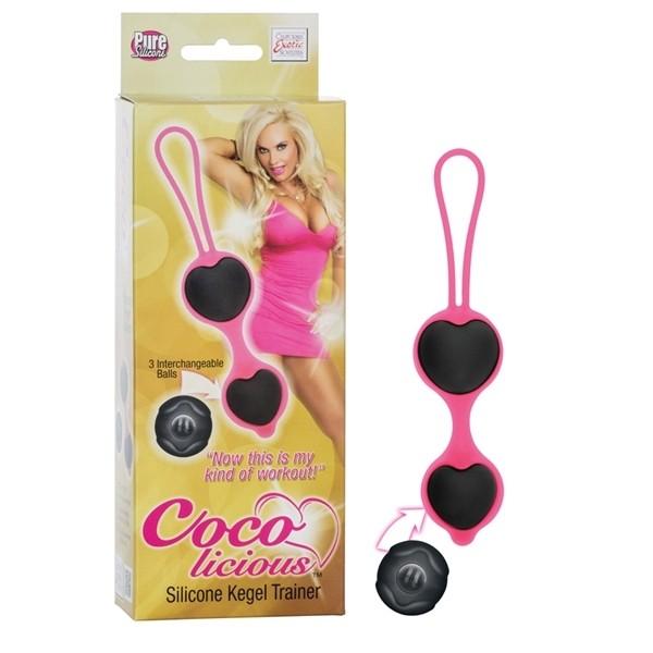 Комплект вагинальных шариков «Coco Licious»