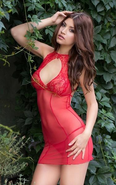 Платье и трусики «Sonia Red»