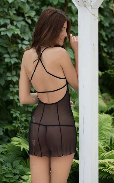 Платье и трусики «Sonia Black» (Фото 1)