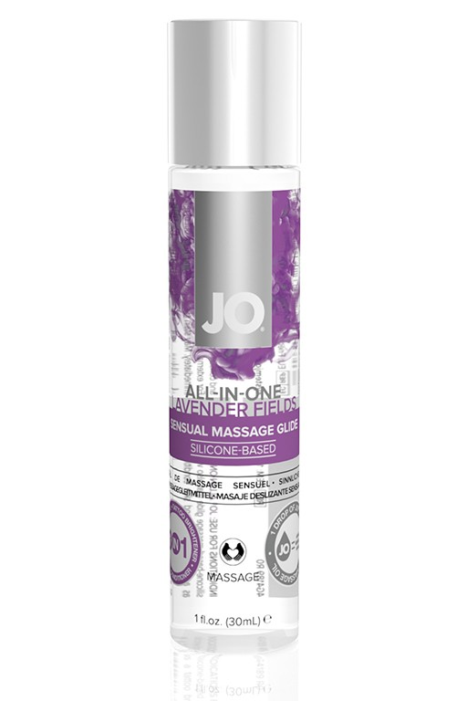 Массажное масло-лубрикант «ALL-IN-ONE Massage Oil Lavender»