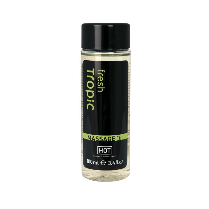 Массажное масло с ароматом тропической свежести «Massage Oil Fresh Tropic» 100 мл.
