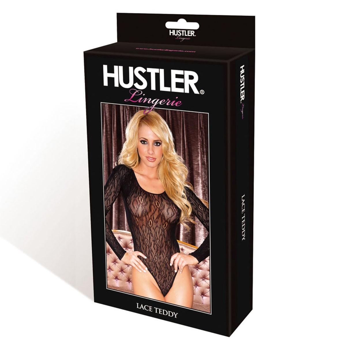 Элегантное боди с рукавами «Hustler» (Фото 2)