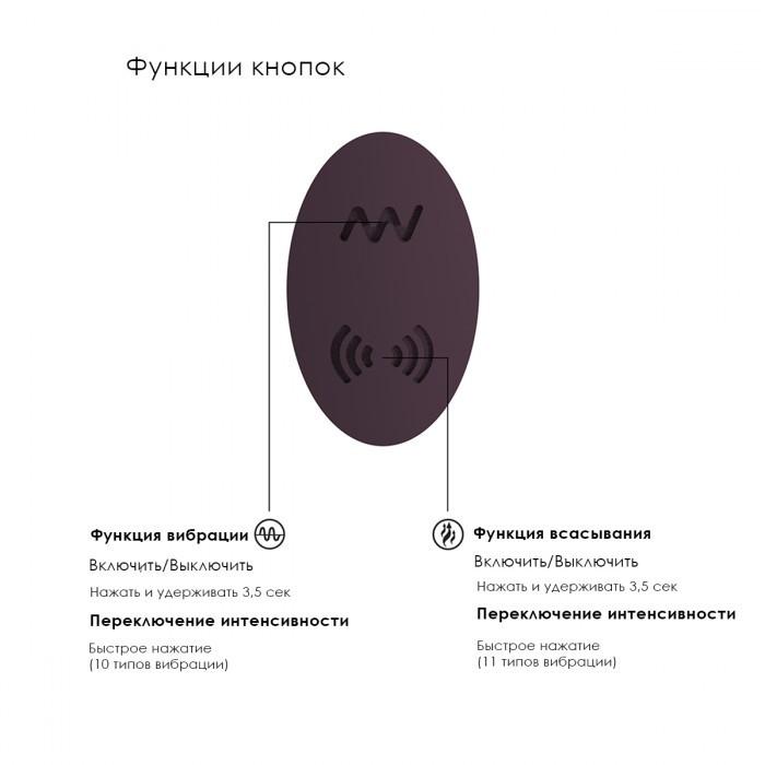 Стимулятор клитора «Irresistible Desirable» с энергией звуковой волны и вибрацией (Фото 4)