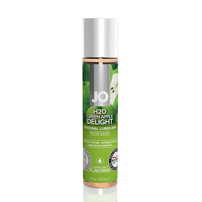 Съедобный лубрикант JO H2O «Green Apple»