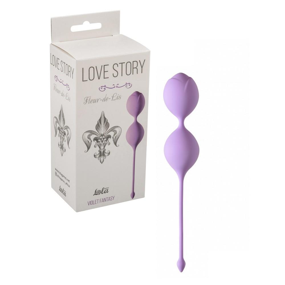 Вагинальные шарики «Fleur-de-lisa Sweet Kiss»