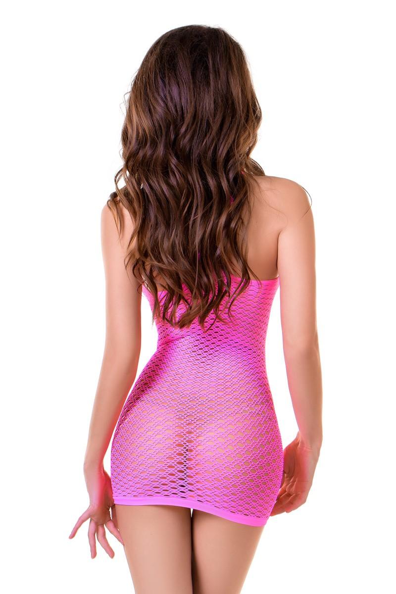 Платье в мелкую сетку «Malibu» (Фото 1)
