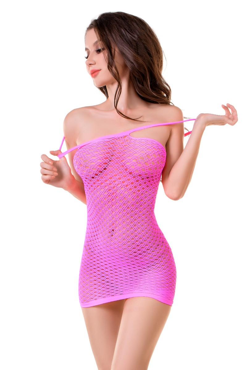 Платье в мелкую сетку «Malibu»