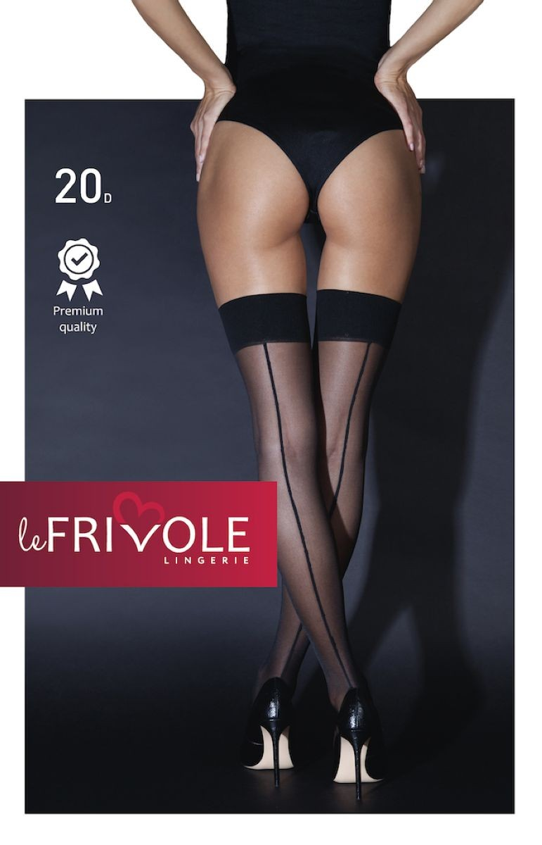 Чулки со стрелками «Le Frivol» (Фото 1)