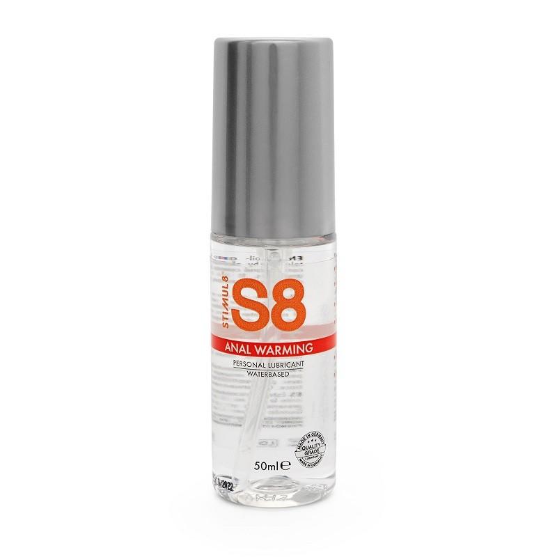 Анальная смазка «S8 Warming Anal Lube» с разогревающим эффектом