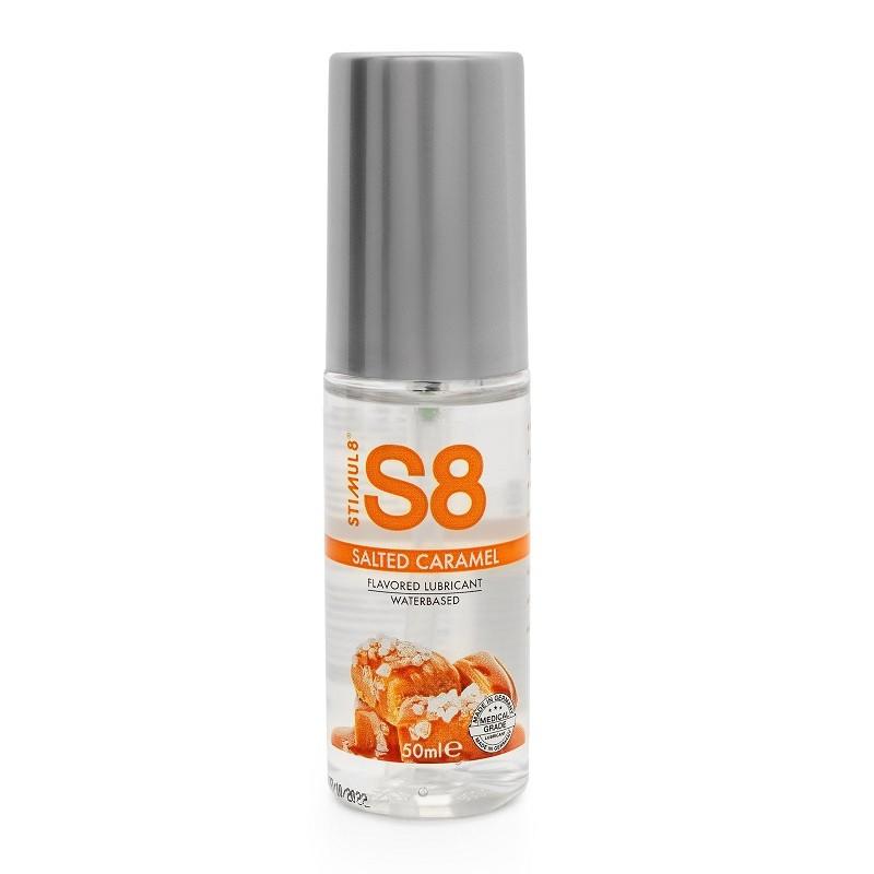 Смазка для орального секса «S8 Flavored Lube Salted Caramel» со вкусом соленой карамели