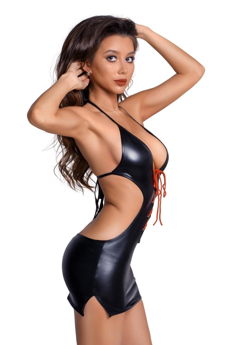 Сексуальное платье «Glossy» (Фото 1)