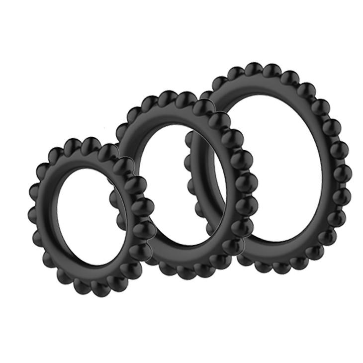 Набор эрекционных колец «Cock's Ring» (Фото 1)