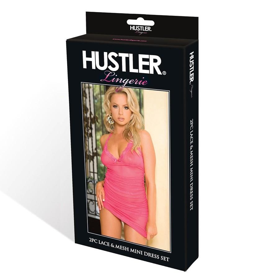 Полупрозрачное платье «Hustler» (Фото 2)