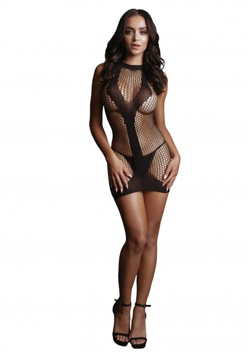 Миниплатье «Met Contrast Mini Dress»