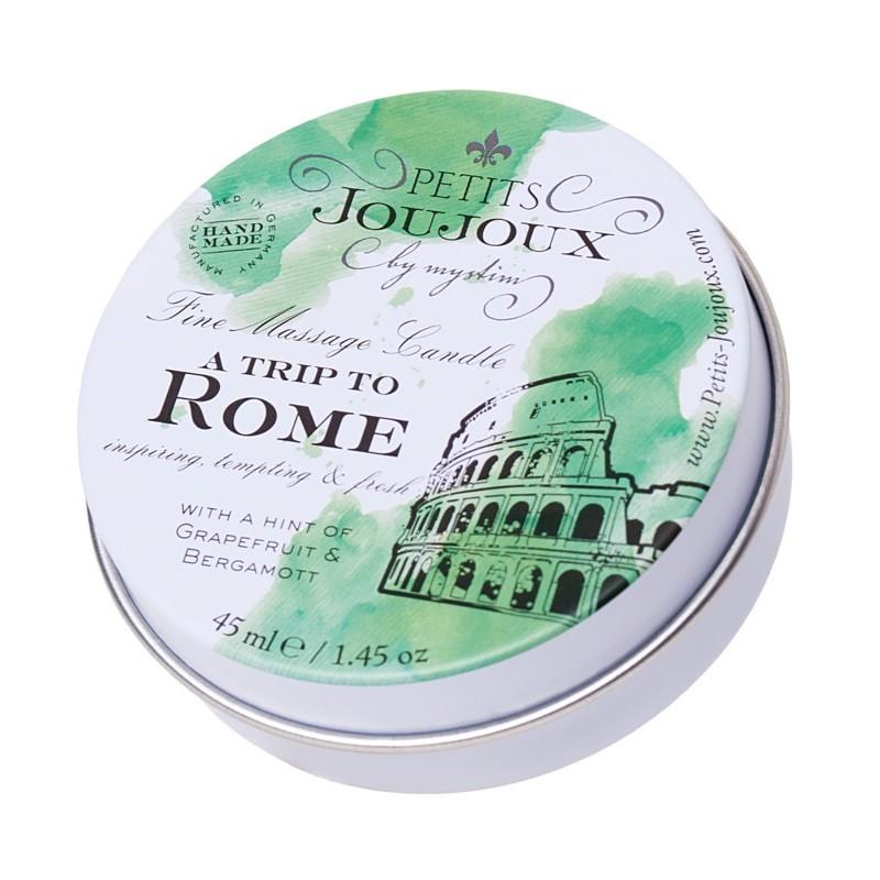 Массажная свеча с ароматом грейпфрута и бергамота «Petits JouJoux A Trip To Rome» (Фото 2)