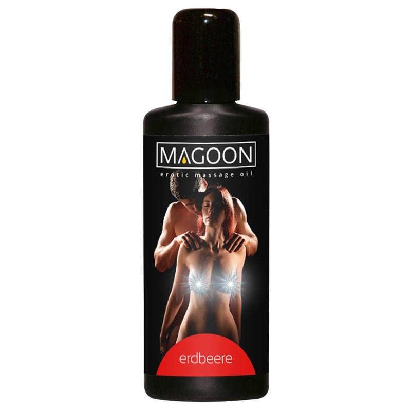 Массажное масло «MAGOON Strawberry»