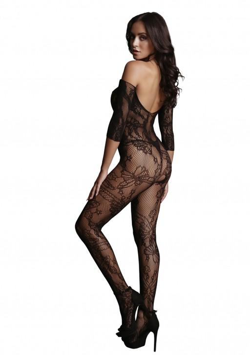 Боди-комбинезон «Lace Sleeved Bodystocking» (Фото 1)