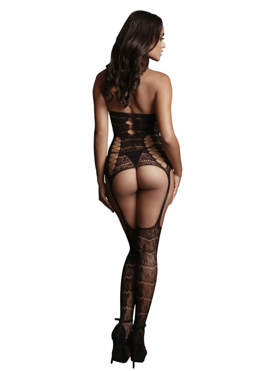 Боди-комбинезон «Lace Suspender Bodystocking» (Фото 1)