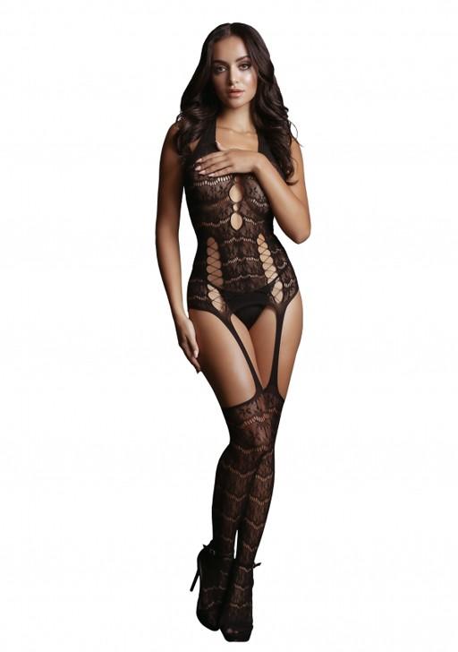 Боди-комбинезон «Lace Suspender Bodystocking»