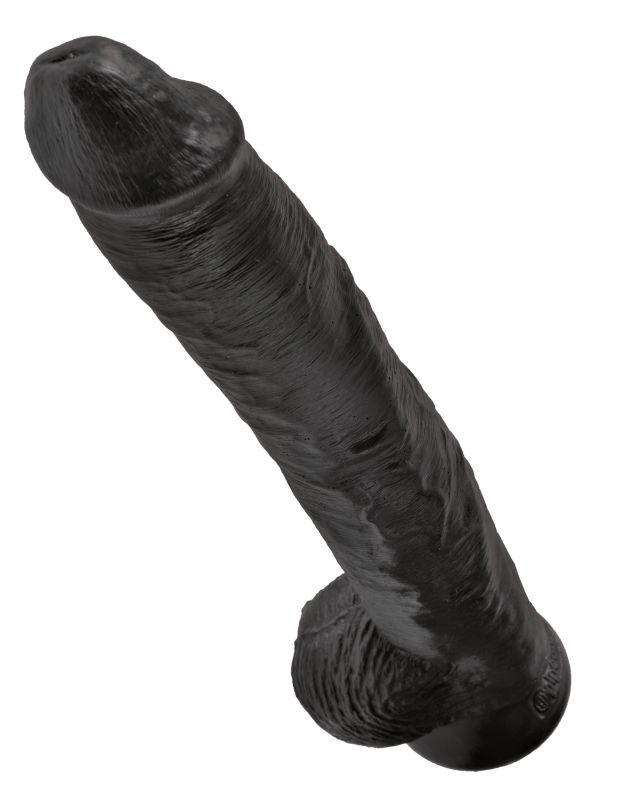 Реалистичный фаллоимитатор-гигант на присоске «King Cock 14 Cock with Balls» (Фото 3)