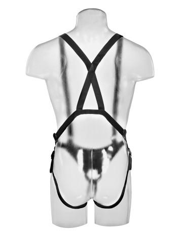Страпон-система с насадкой «10 Hollow Strap-On Suspender System» (Фото 5)
