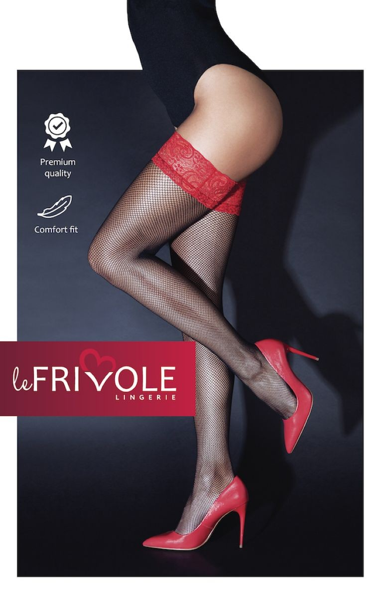 Чулки с кружевной резинкой «Le Frivole» (Фото 1)