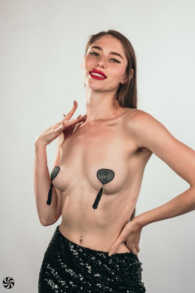 Пэстисы-сердечки с кисточками «Burlesque Evans» (Фото 2)