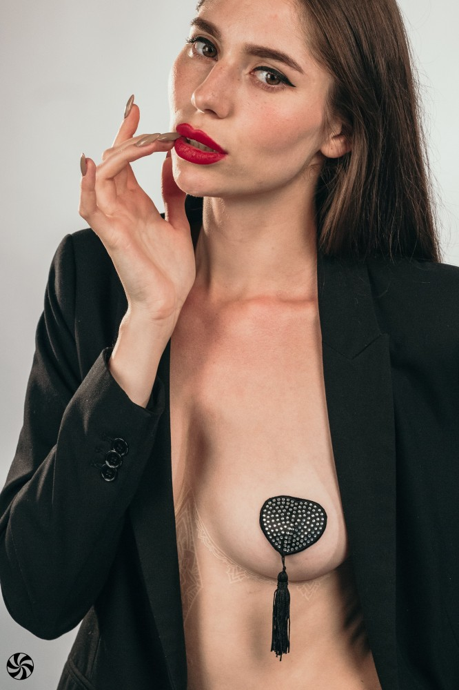 Пэстисы-сердечки с кисточками «Burlesque Evans» (Фото 4)