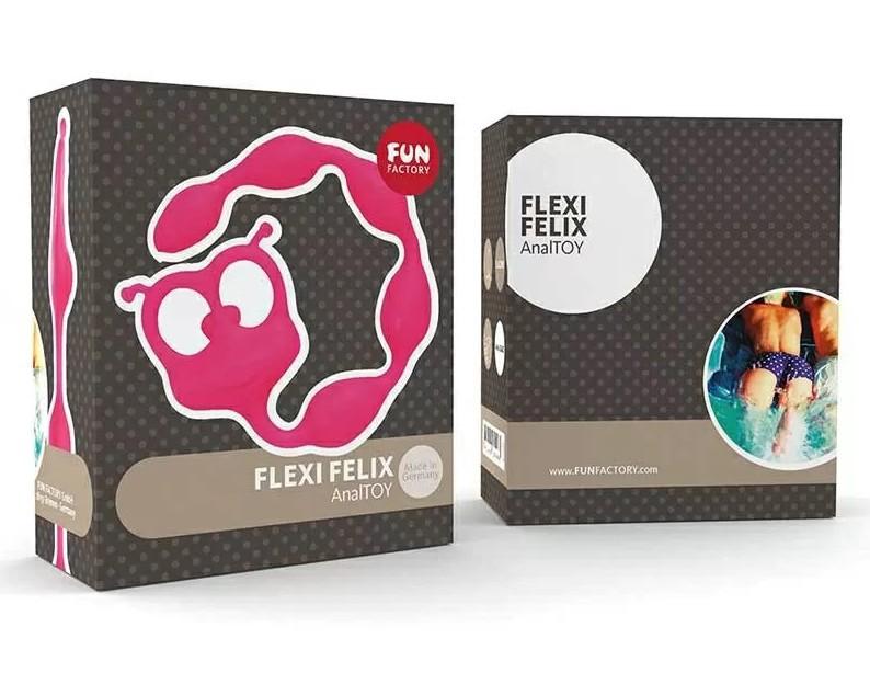 Анальная цепочка «Flexi Felix» (Фото 4)