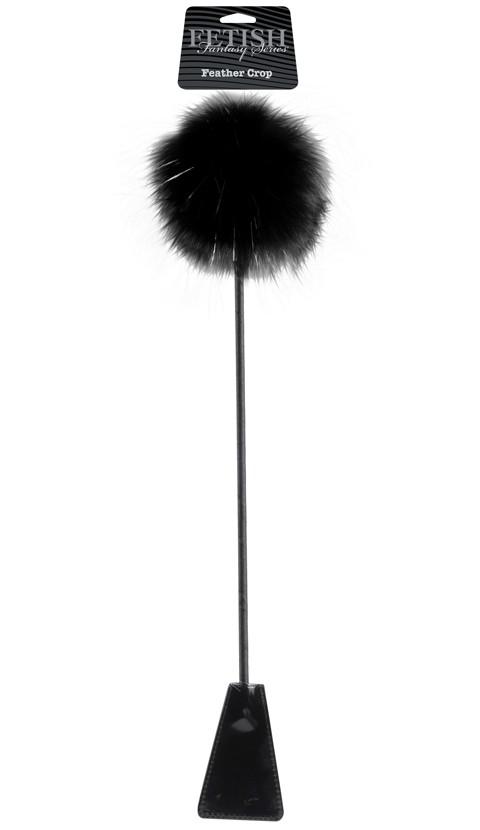 Стек «Feather Crop» с пуховкой