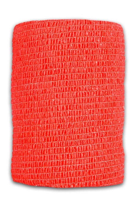 Перевязочная лента красная широкая «LuxLab» арт.M53