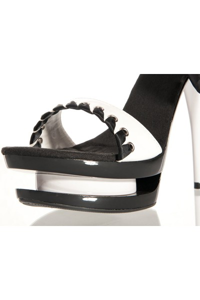 Стрип обувь «BLACK and WHITE» (Фото 1)