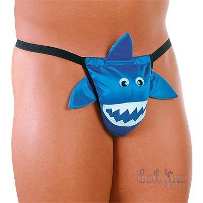 Стринги для мужчин «Акула» арт.443680