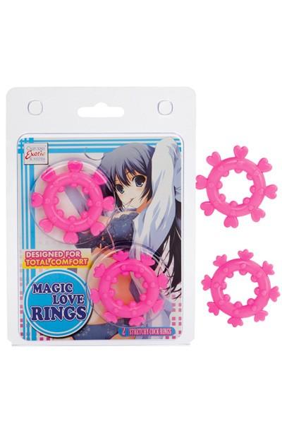 Набор из двух колец «MAGIC LOVE RINGS»