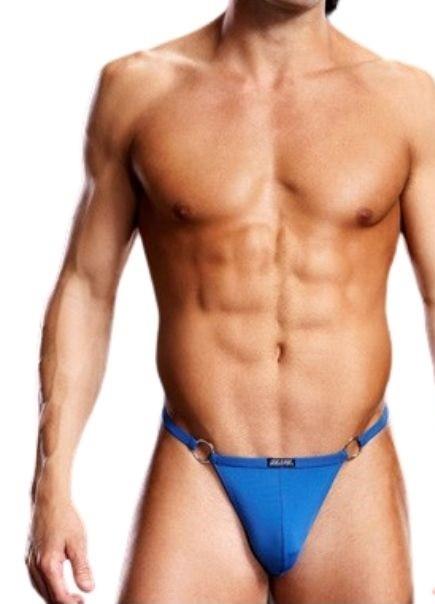 Мужские V-стринги «Blue Line Blue»