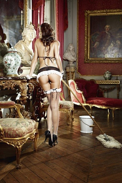 Игровой костюм «Сексуальная горничная» (Фото 4)