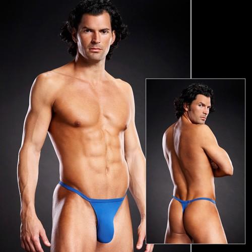 Мужские Т-стринги «Blue Line Blue» арт.BLM024 (Фото 1)