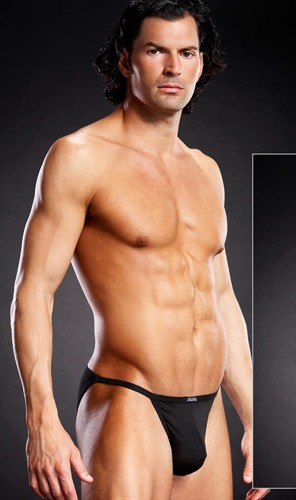 Мужские стринг-бикини «Blue Line Black» арт.BLM002
