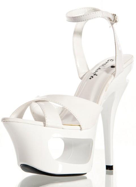 Стрип обувь «Erolanta Wh»