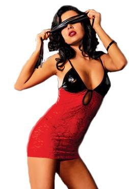 Платье с черным лифом «Fire» арт.9324