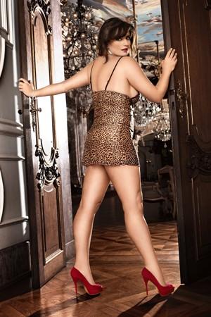 Мини-платье BACI «Animal» (Фото 1)