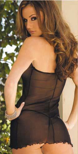 Прозрачное платье со шнуровкой «FLURRY» (Фото 1)