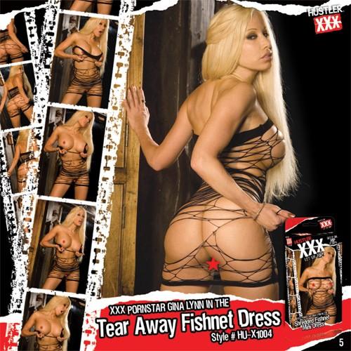 Платье из сетки «XXX - легко порвать» арт.HU-X1004 (Фото 1)