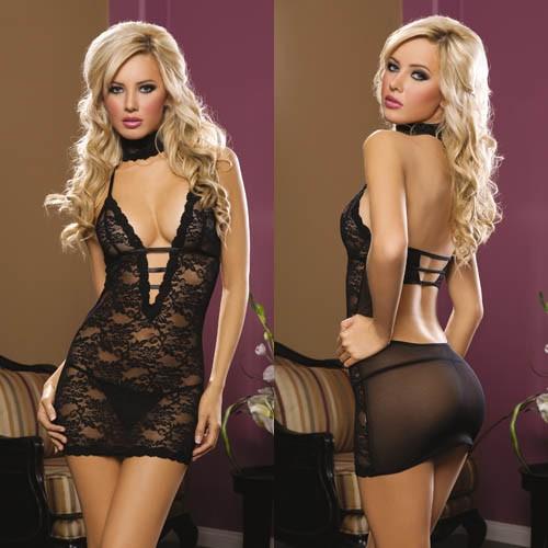 Ажурное платье «ISABEL BLACK» арт.9217  (Фото 2)