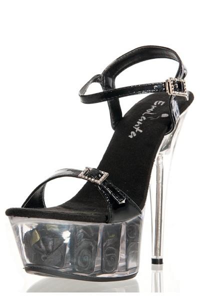 Стрип обувь «Erolanta Black»