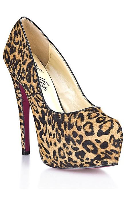 Туфли леопардовые «HUSTLER»