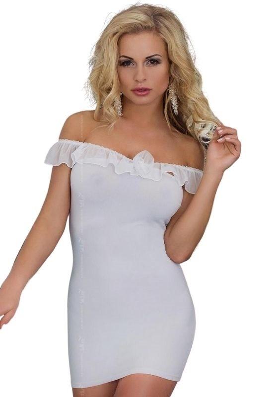 Сексуальное белое платье что