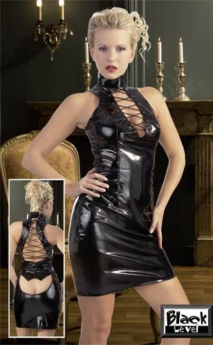 Платье из винила «Black Level»
