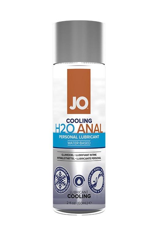 Охлаждающий лубрикант «JO Anal H2O Water Based Cool» 60 мл