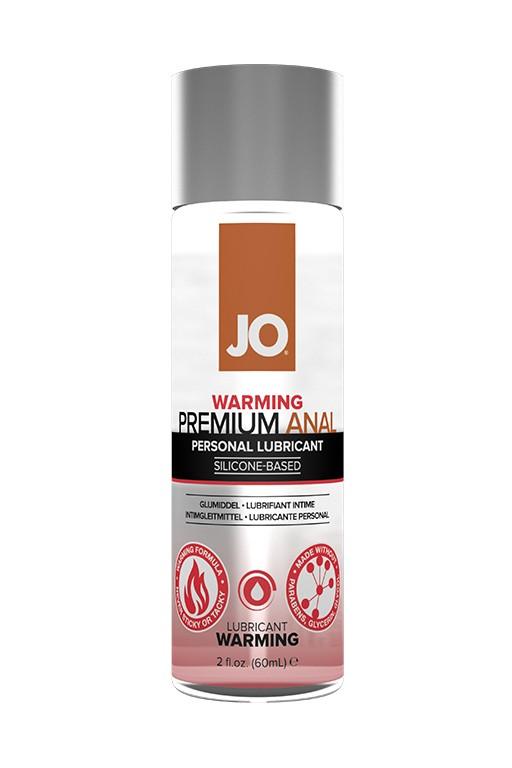 Разогревающий лубрикант «JO Anal Premium Silicone Warming»